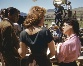 Frank Sinatra and Sophia Loren in The Pride and The Passion on Set Filming 16x20 - $69.99