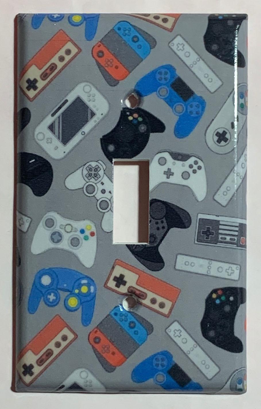 Video games controll single toggle