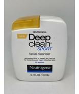 NEUTROGENA DEEP CLEAN SPORT FACIAL CLEANSER RARE - 5.1 oz - $39.99