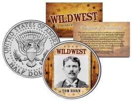 TOM HORN * Wild West Series * JFK Kennedy Half Dollar U.S. Coin - $8.86