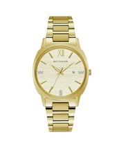 Wittnauer Ladies WN4113 Moserrat Watch Gold-Tone Stainless Steel Genuine Diamond - $395.01