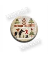 Horsin Around Farmhouse Christmas #2 Needle Nanny needle minder Stitch Dots - $12.00