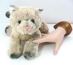 "GUND Stuffed Plush Floppy 9"" BOOTSIE Kitty CAT 1137 Tan Gray Siamese Blu... - $24.75"