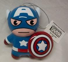 CAPTAIN AMERICA The Avengers Marvel HALLMARK CHRISTMAS HOLIDAY ORNAMENT NEW - $14.85