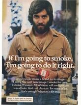 1975 Winston Cigarette Advertisement - $16.00