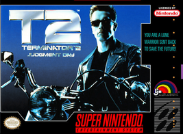 Terminator 2 Judgement Day SUPER NINTENDO SNES - $9.11