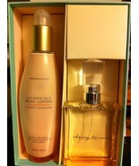 Bath & Body Works Cherry Blossom Ultimate Silk Gift Set Lotion & EDT - $330.00