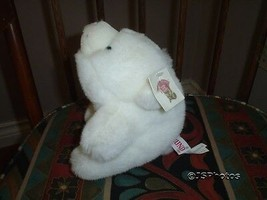 Gund Snuff Snuffles White Bear 7 Inch Vintage 1980 with Tags Including Swing - $86.85