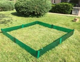 Raised Garden Border Garden Fence Garden Bed Frame Flower Bed Fence Kit ... - $62.79 CAD