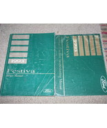1993 Ford Festiva Service Repair Shop Manual SET OEM W EVTM EWD - $59.35