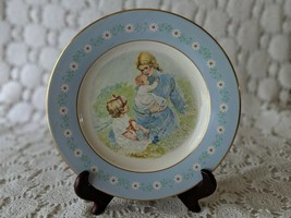 Avon Tenderness Pontesa Ironstone Porcelain Collectors Plate 1974 - $14.54