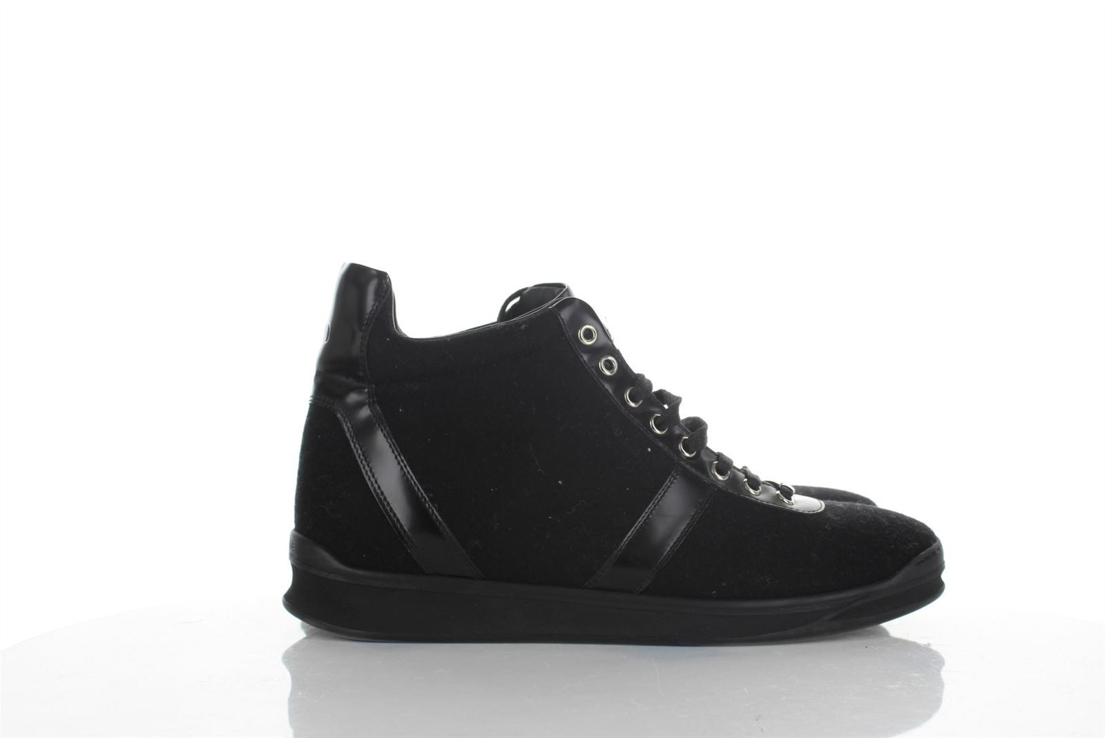 a480ccd4bd283 Dior Homme Black Leather Felt High Top and 50 similar items