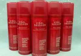 Vidal Sassoon Pro Series EXTRA FIRM HOLD HAIRSPRAY Hair Spray 5 x 1.5 oz... - $9.46