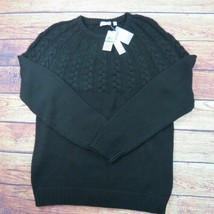 Grand Calvin Klein Noir Cableknit - $49.30
