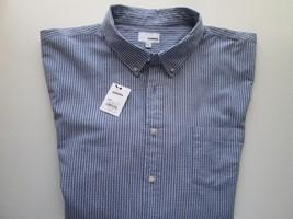 Sonoma Good For Life The Everyday Shirt Button-Down Men Blue Stripes XXL... - $22.79