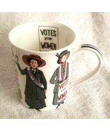 Alison Gardiner Coffee Cup Mug VOTE FOR WOMEN Fine Bone China England - $27.95