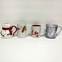 STARBUCKS COFFEE COMPANY MIXED LOT (4) 2004-2011 CHRISTMAS THEME CUPS/MUGS - $73.44