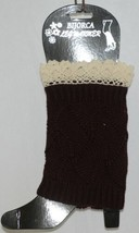 Bijorca BT264X103A1Brown Leg Warmer Cream Colored Lace image 1