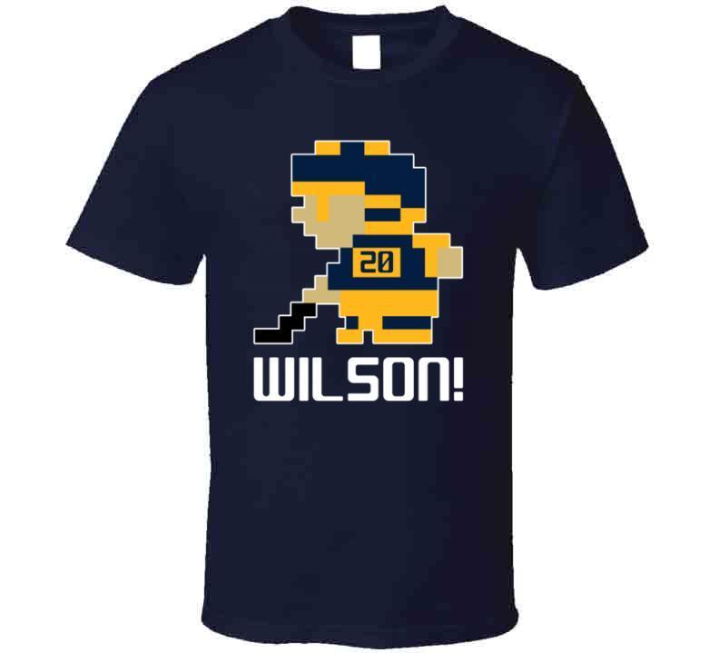 Scott Wilson # 20 Tecmo Buffalo Hockey Athlete Fan T Shirt