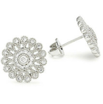 CZ by Kenneth Jay Lane Vintage CZ Stud Earrings KE509 NWT  - $39.11