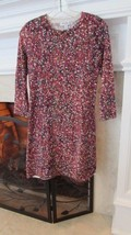 Isaac Mizrahi for Target Floral Sweater Dress Sz XS Retail $40 - $28.71