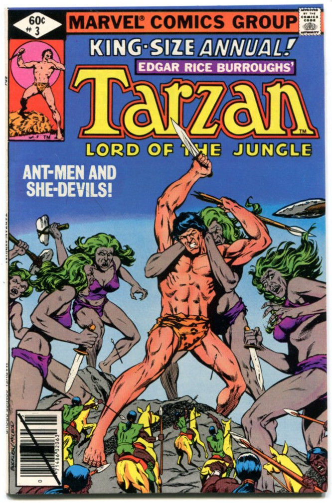 Tarzan Annual 2 NM 9.2 Marvel 1978 Bill Mantlo Sal Buscema Korak