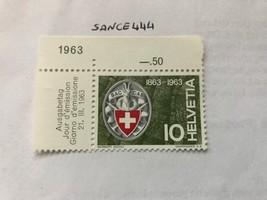 Switzerland Stamp Day mnh 1963 - $0.99