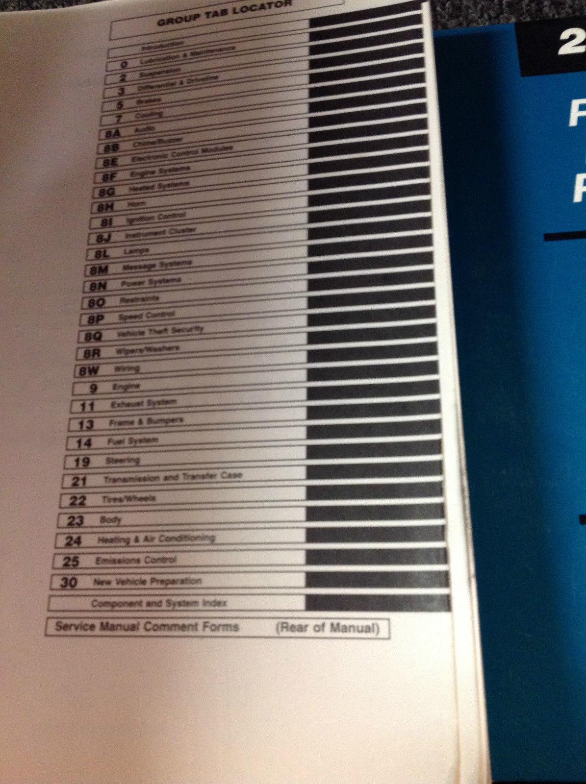 2001 JEEP GRAND CHEROKEE Service Repair Shop Manual SET W Labor Guide Diagnostic