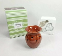 Scentsy Plug-In Warmer Groovy Rust Never Used (br2/3)  - $17.81