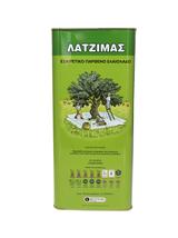 Latzimas Extra virgin olive oil Koroneiki variety 5Lt distinctive bitter... - $97.70