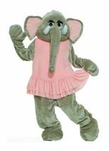 Forum Deluxe Plush Elephant Mascot Tutu, Pink/Gray, One Size Costume - $121.91