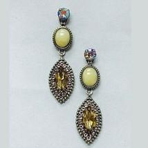 Sorrelli Antiqued Silver Triple Drop Earring - $78.21