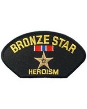 United States Bronze Star for Heroism Hat Patch NEW!!! - $7.91