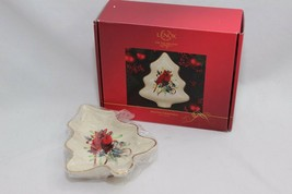 "Lenox Cardinal Winter Greetings Tree Dish 8"" - $23.03"
