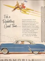 "OLDSMOBILE ""88"" HOLIDAY COUPE advertisement Fortune Magazine 1953 - $1.66"