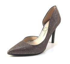 Jessica Simpson Claudette Multi Bronze Glitter D'orsay Pointy Dressy Pumps - $69.00