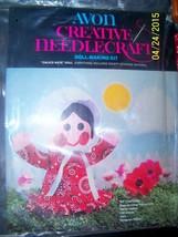 VINTAGE Doll MAKING Kit Calico Kate Doll Western AVON CREATIVE NEEDLECRA... - $9.89