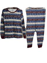 Harry Potter Hogwarts School 2 Piece Striped Pajamas XL Stretch Cotton W... - $24.74