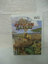 Wild Earth: African Safari (Nintendo Wii, 2008) - $7.00