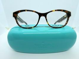 Kate Spade Josee (S3P) Havana Cream Transparent 50 x 15 135 mm Eyeglass ... - $74.20