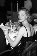 Lauren Bacall candid b/w at Hollywood event 1950's 18x24 Poster - $23.99