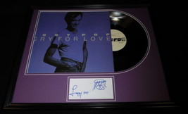 Iggy Pop Signed Framed 16x20 Sketch & Cry for Love Record Album Display AW  - $373.99