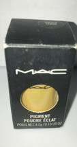 MAC Eye Pigment Color Powder - Golden Lemon 4.5 g / 0.15 oz New in box - $45.12
