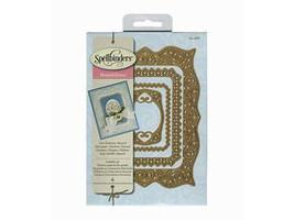 Spellbinders Nestabilities Labels 40 Decorative Accents Die Set #S4-466