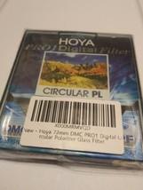 Genuine Hoya Pro 1 Digital Filter Circular PL 72mm. DMC / LPF *New* - $14.85