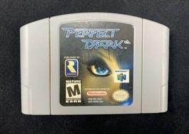 Nintendo N64 Perfect Dark 2000 Video Game CARTRIDGE ONLY  - $12.59