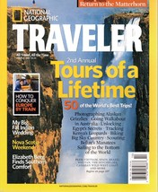 National Geographic TRAVELER Magazine October 2007 Tours of a Lifetime - $7.99