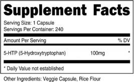 Nutricost 5-HTP 100mg, 240 Capsules (5-Hydroxytryptophan) - Veggie Caps,... - $61.73