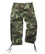 Genuine Reclaimed US Goretex Woodland Camo Trousers / Pants - $38.35