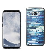 REIKO SAMSUNG GALAXY S8 EMBOSSED WOOD PATTERN DESIGN TPU CASE WITH MULTI... - $8.05